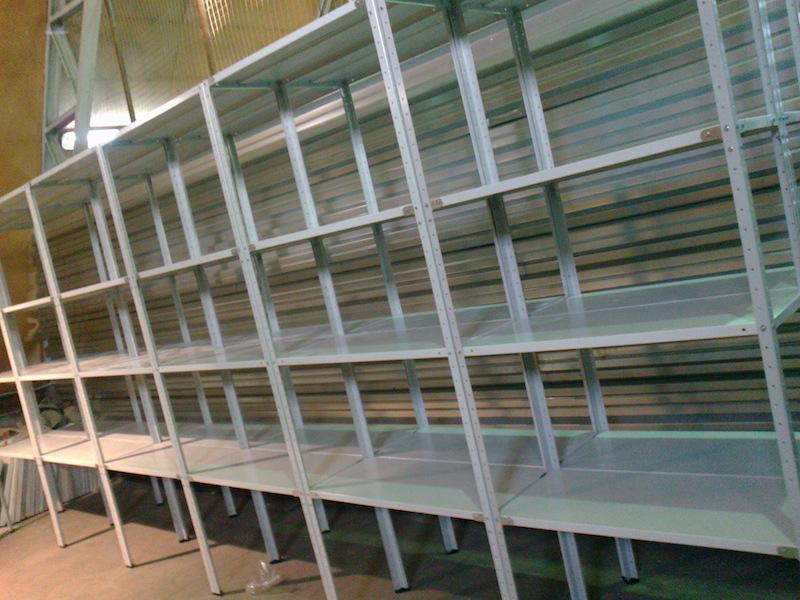 Изготовить металлические стеллажи